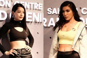 Chi Pu và Minh Tú đọ dáng chuẩn đồng hồ cát với phong cách 'sporty-chic' như thiêu đốt mọi ánh nhìn