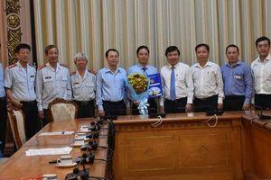 Ông Đặng Minh Đạt được bổ nhiệm làm Chánh Thanh tra TP HCM