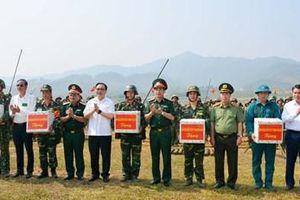 Thành phố Hà Nội hoàn thành diễn tập khu vực phòng thủ