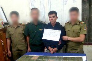 Bắt 2 đối tượng vận chuyển 32 bánh heroin từ Lào về Việt Nam