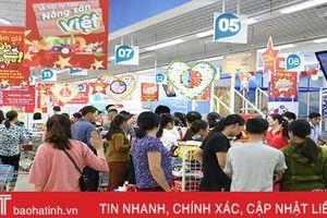 Doanh thu bán lẻ - dịch vụ tiêu dùng Hà Tĩnh 9 tháng đạt hơn 38.000 tỷ