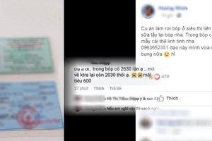 Trả lại ví có hơn 2 triệu, không được cám ơn còn bị nghi lấy 600 ngàn