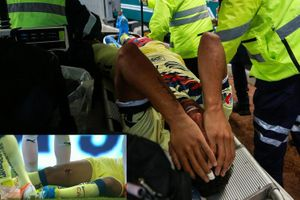 Cận cảnh pha chấn thương kinh hoàng của cựu sao Barca