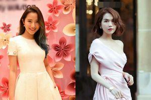 'Tình cũ Phan Thành' ăn diện thanh tao, Ngọc Trinh không cần cởi cũng đủ dẫn đầu top sao đẹp
