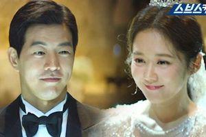 'VIP': Jang Nara trẻ xinh như gái 20 trong ngày cưới 'anh chồng quốc dân' Lee Sang Yoon