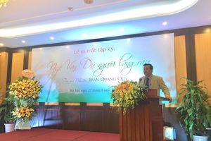 Ra mắt sách về nguyên Ủy viên Bộ chính trị Ngô Văn Dụ