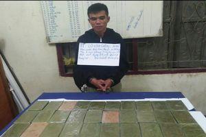 Thanh Hóa: Bắt 2 đối tượng 'ôm' 32 bánh heroin vượt biên