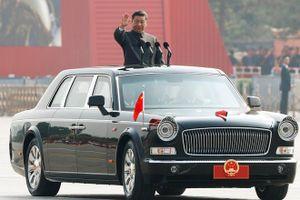 Ông Tập Cận Bình, Giang Trạch Dân dự duyệt binh 70 năm quốc khánh TQ