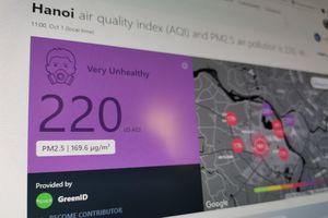 Việt Nam ô nhiễm, AirVisual đo chỉ số không khí thế nào?