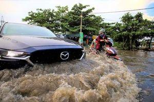 TP Hồ Chí Minh: Triều cường trên báo động 3 sẽ duy trì đến hết ngày 3/10