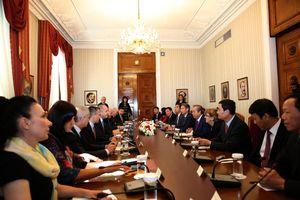 Phó Thủ tướng Thường trực hội kiến Tổng thống Bulgaria Rumen Radev