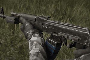 Bị 'tra tấn' khủng khiếp, súng AK-74M chứng minh được sức mạnh