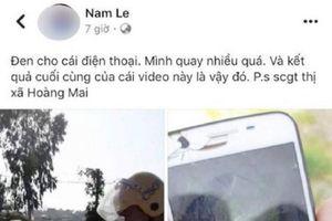 Hai thanh niên bị phạt 15 triệu đồng vì xúc phạm CSGT trên Facebook