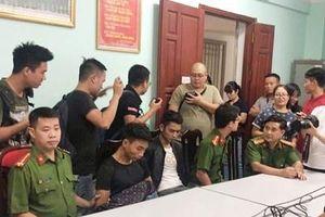 Hai nghi phạm sát hại nam sinh viên ở Hà Nội vẫn thản nhiên về Yên Bái uống rượu