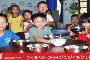 Thực phẩm bếp ăn bán trú ở Lộc Hà: 'Cược' niềm tin vào nhà cung cấp!