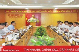 Hà Tĩnh đề nghị báo cáo Bộ Chính trị chủ trương dừng dự án khai thác sắt Thạch Khê