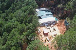 Cưỡng chế, tháo dỡ nhà xây không phép giữa rừng thông Đà Lạt