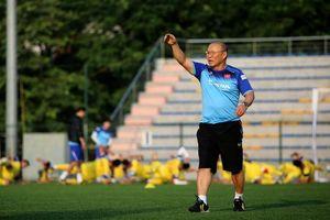 HLV Park Hang Seo không chỉ đạo trận U22 Việt Nam đá ở TP.HCM
