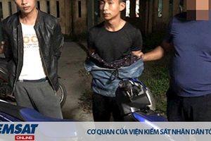 Hai nghi phạm giết nam sinh chạy xe Grab bị bắt