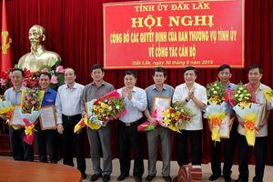 Nhân sự mới tại Thái Nguyên, Đắk Lắk và Long An