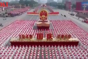 Toàn cảnh lễ duyệt binh hoành tráng mừng 70 năm quốc khánh của Trung Quốc