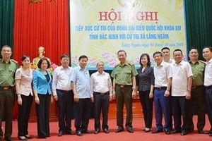 Bộ trưởng Tô Lâm tiếp xúc cử tri xã Lãng Ngâm, Gia Bình, Bắc Ninh