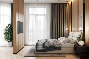 Căn hộ 2 phòng ngủ được thiết kế đẹp mắt