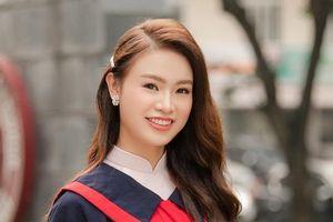 'Cô gái vàng' trong lịch sử Hoa hậu Việt Nam tốt nghiệp Đại học loại xuất sắc
