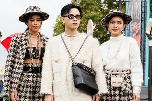Châu Bùi và bạn trai Decao phủ hàng hiệu dự show thời trang quốc tế