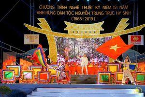 Chương trình nghệ thuật khai mạc Lễ hội Nguyễn Trung Trực 2019: Ấn tượng, giàu cảm xúc