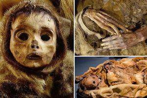 Rùng mình ánh mắt thảng thốt 500 năm của xác ướp bé trai