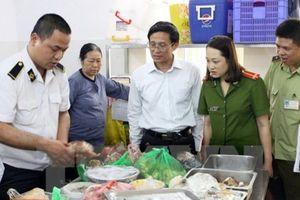 Hà Nội: Xử lý 130 vụ vi phạm an toàn thực phẩm, thu số tiền 1,3 tỷ đồng