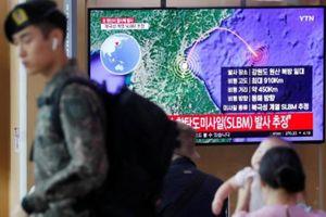 Triều Tiên phóng tên lửa đạn đạo trước thềm đàm phán
