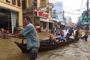 Thời tiết ngày 2/10: Các tỉnh Đồng bằng sông Cửu Long tiếp tục ngập úng