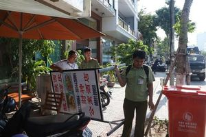 Đà Nẵng: Xử phạt 30 nhà hàng, khách sạn ghi bảng hiệu quảng cáo toàn chữ nước ngoài