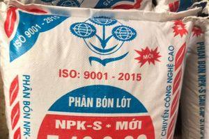 Công ty Supe Lâm Thao: Khó khăn trong cuộc chiến với phân bón giả