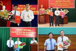 Nhân sự mới tại Vĩnh Long, Thừa Thiên Huế, Sơn La, Yên Bái
