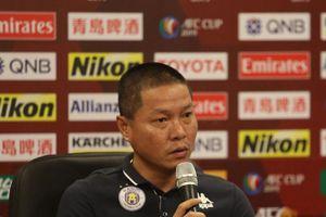 'Vỡ mộng' tại AFC Cup, HLV Hà Nội nói gì?