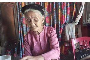 Cụ bà 83 tuổi xin thoát nghèo: Chỉ những người tử tế mới làm thế!