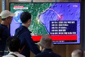 Triều Tiên phóng tên lửa, Mỹ kêu gọi kiềm chế khiêu khích