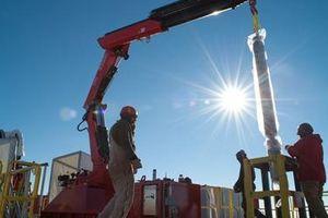 Nghiên cứu khí hậu bằng mũi khoan 3km ở Nam Cực