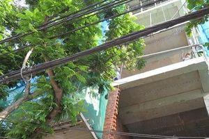 Đang dọn dẹp phía dưới công trình, người đàn ông bị thanh sắt rơi xuống đâm xuyên bụng