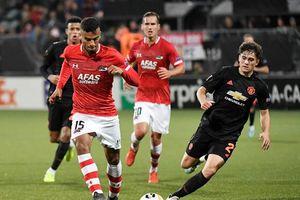 MU mất ngôi đầu bảng sau trận hòa AZ Alkmaar