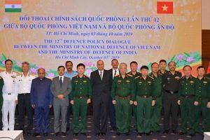 Đối thoại chính sách quốc phòng Việt Nam - Ấn Độ lần thứ 12