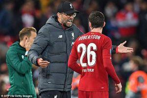 HLV Liverpool nói gì sau cuộc rượt đuổi điên rồ với Salzburg?