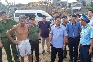 Chủ tịch Hải Phòng thị sát, chỉ đạo nóng vụ giang hồ mang dao kiếm đi chiếm đất