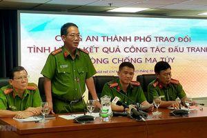 Thành phố Hồ Chí Minh triệt phá hàng loạt đường dây mua bán ma túy lớn