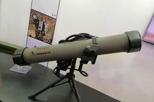 'Mãn nhãn' với 2 loại tên lửa vác vai tối tân của châu Âu được trưng bày tại DSE 2019