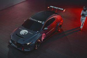 Xe đua thể thao Mazda3 2020 mạnh 350 mã lực chuẩn bị ra mắt