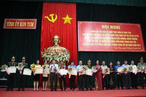 Kon Tum: Khen thưởng 30 tập thể và 40 cá nhân có thành tích xuất sắc trong học và làm theo Bác
